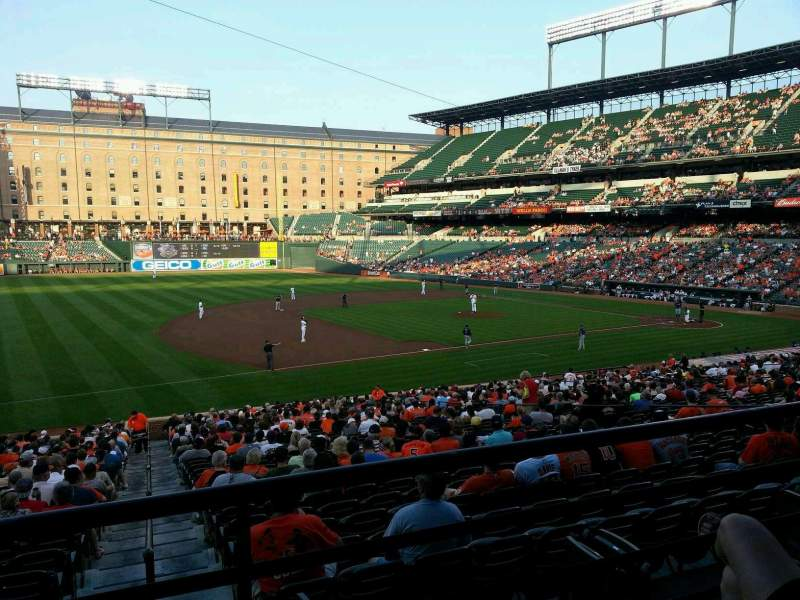 Seating view for Oriole Park at Camden Yards Section 59 Row 2 Seat 7