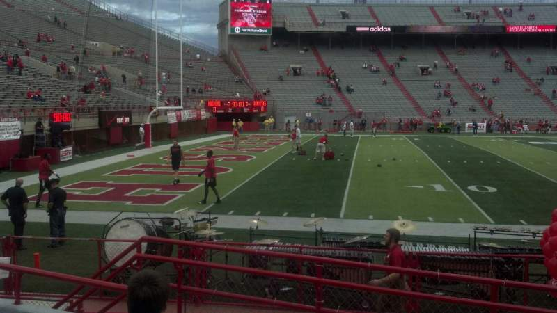 Seating view for Memorial Stadium Section 10 Row 7 Seat 6