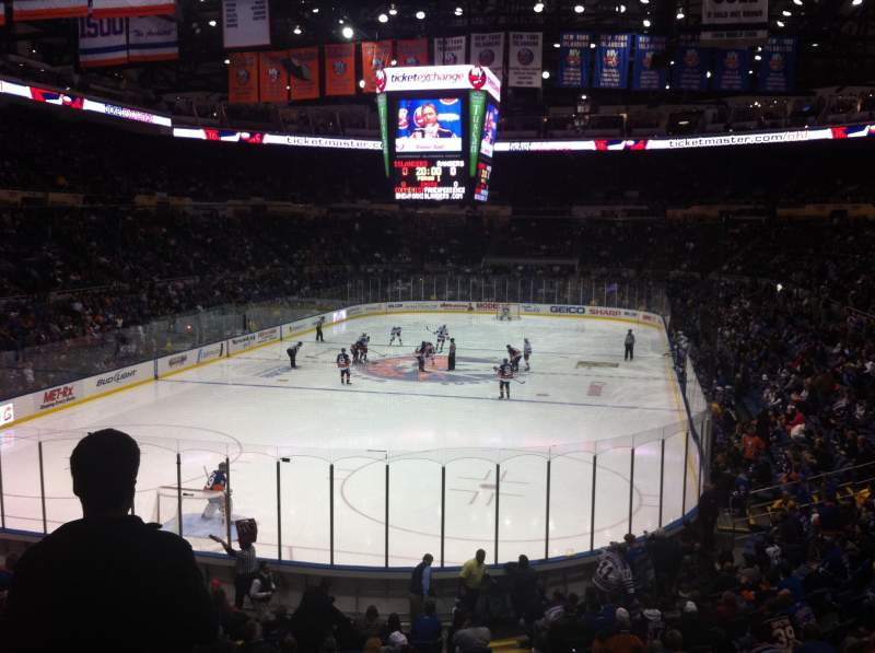 Seating view for Old Nassau Veterans Memorial Coliseum Section 223 Row J