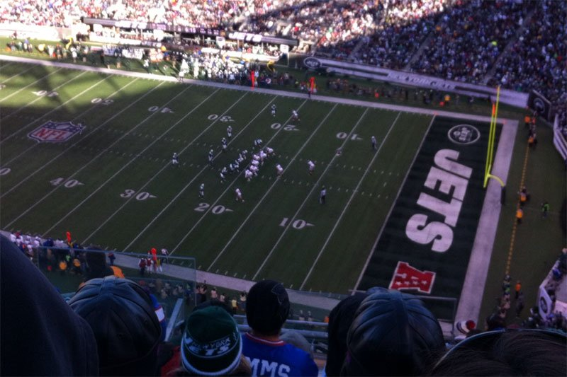 Seating view for Metlife Stadium Section 334 Row 17 Seat 25