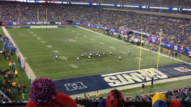 Seating view for Metlife Stadium Section 204 Row 5 Seat 22