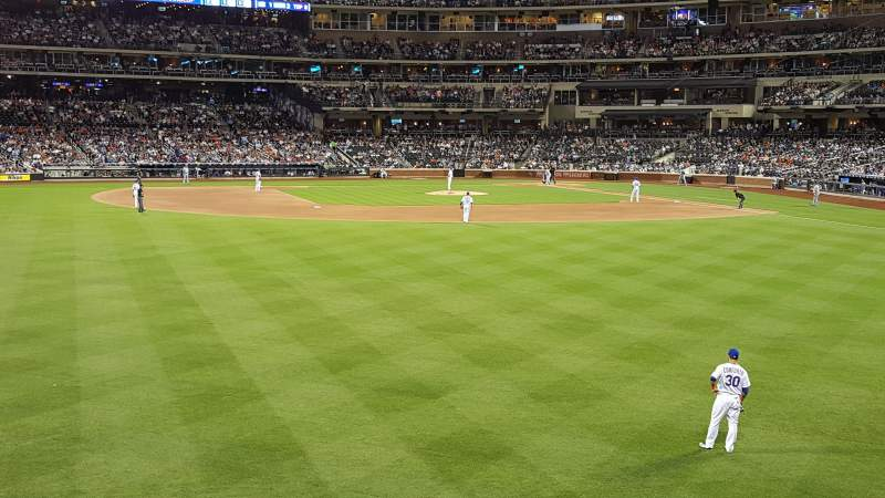 Seating view for Citi Field Section 136 Row 1 Seat 13