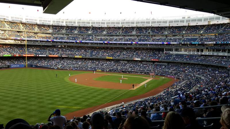 Seating view for Yankee Stadium Section 232A Row 21 Seat 9