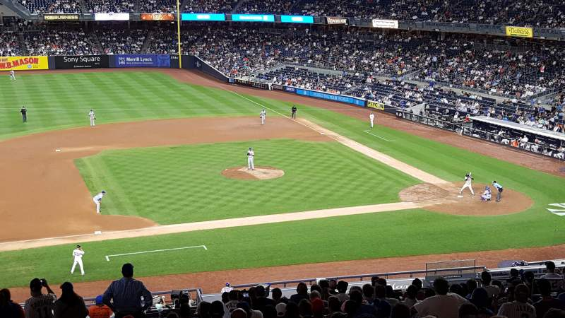 Seating view for Yankee Stadium Section 225