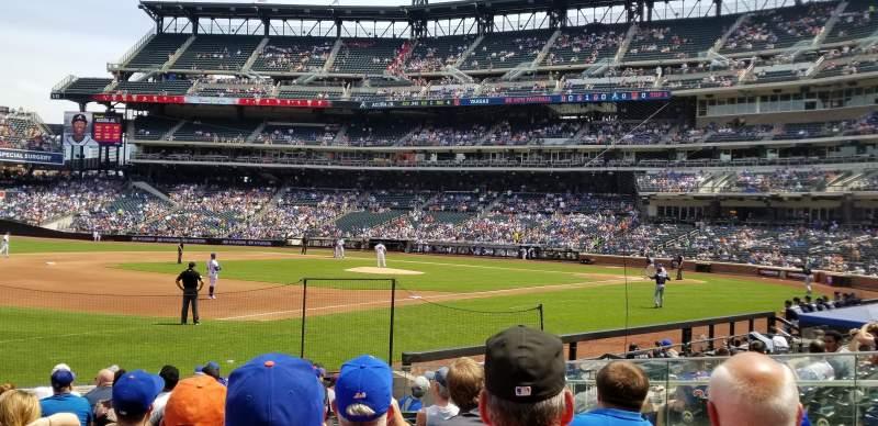 Citi Field, section: 125, row: 10, seat: 16