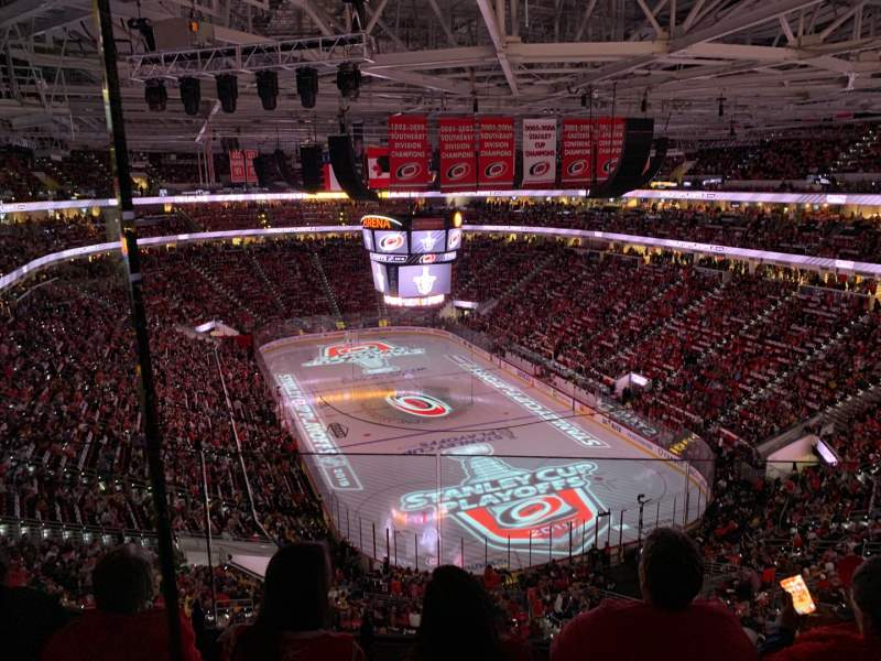 Seating view for PNC Arena Section 316 Row D Seat 11