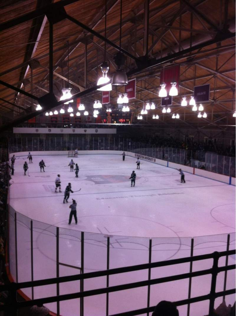 Seating view for Hobey Baker Memorial Rink Section 205 Row A Seat 8