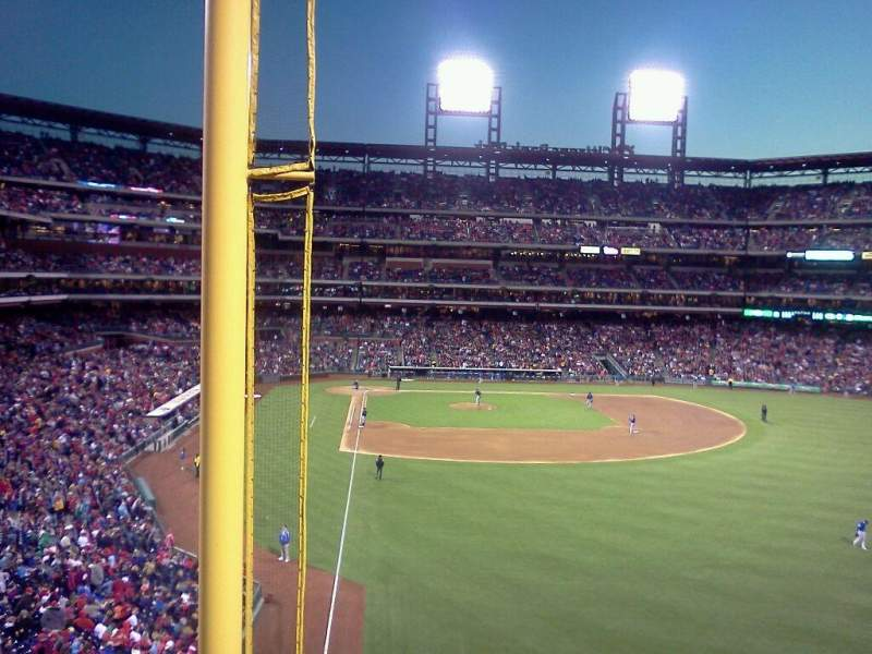 Seating view for citizens bank park Section 205 Row 1 Seat 13