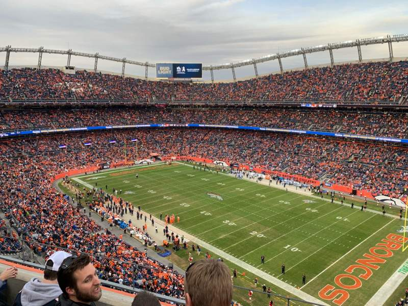 Seating view for Empower Field at Mile High Stadium Section 502 Row 3