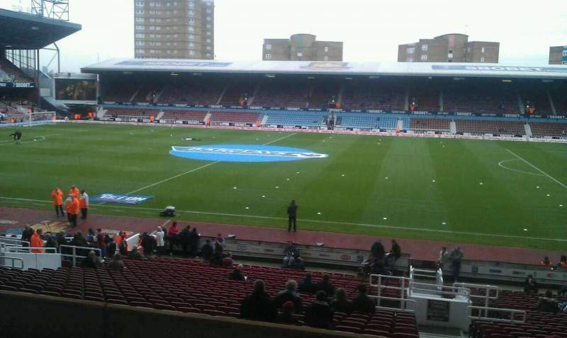 Seating view for Boleyn Ground Section Main Stand Box