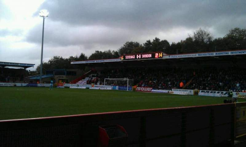 Seating view for Broadhall Way Section Main Row B Seat 140