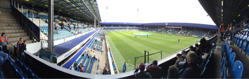 Seating view for Loftus Road Section Y2 Row D Seat 214
