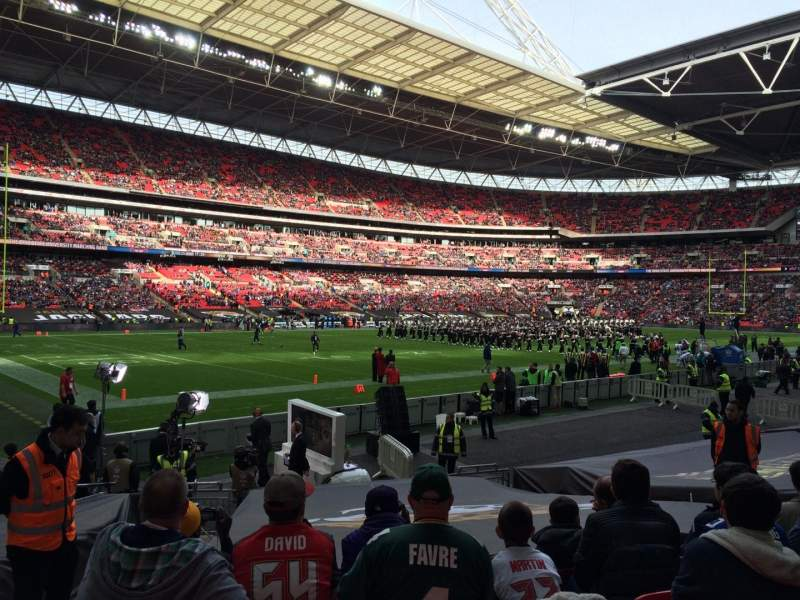 Seating view for Wembley Stadium Section 128 Row 16 Seat 150