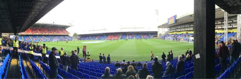 Seating view for Selhurst Park Section T Row 13 Seat 63