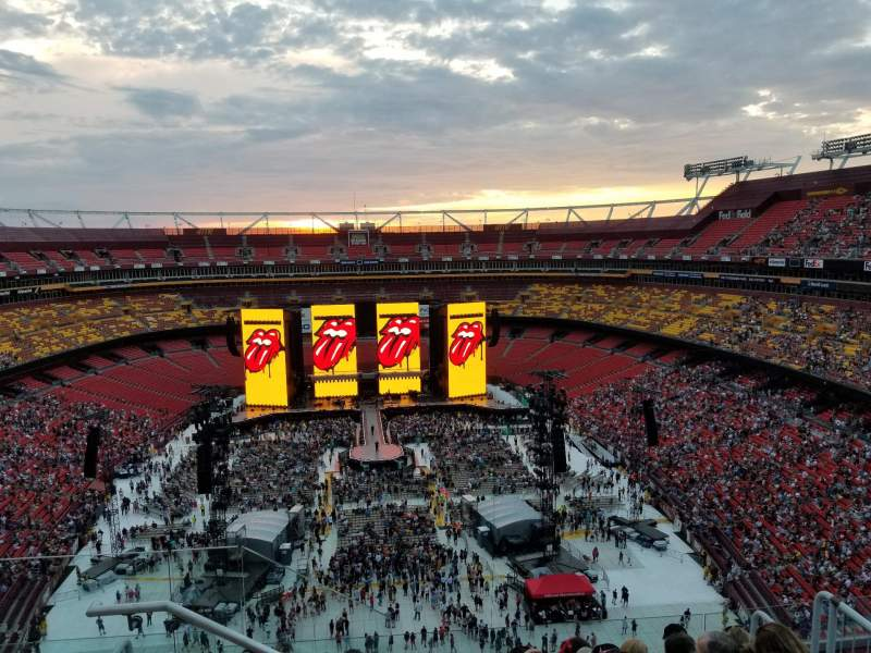 Seating view for FedEx Field Section 441 Row 7 Seat 19