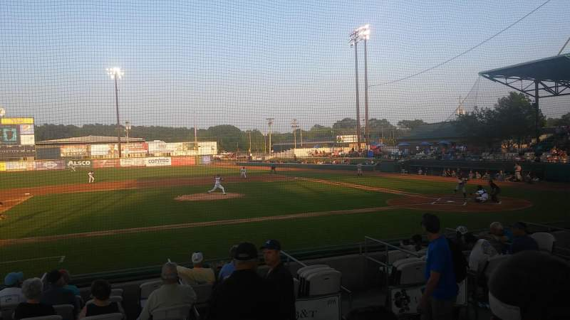 Seating view for Grainger Stadium Section 8 Row e Seat 1