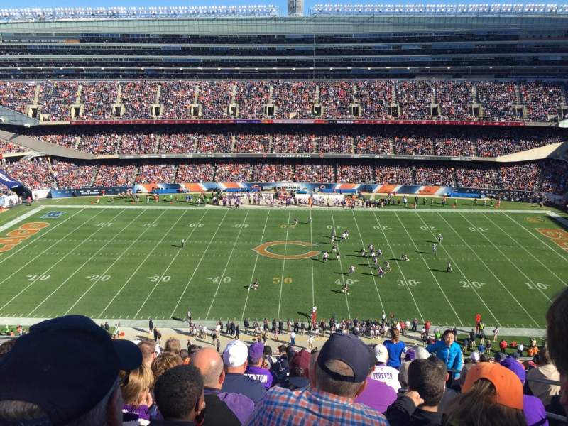 Seating view for Soldier Field Section 437 Row 14 Seat 19
