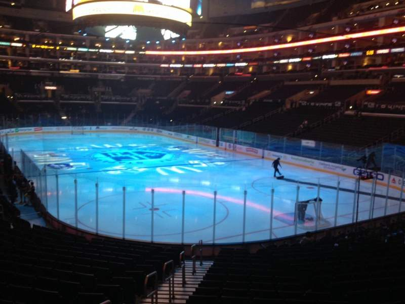 Seating view for Staples Center Section 116 Row 20 Seat 33