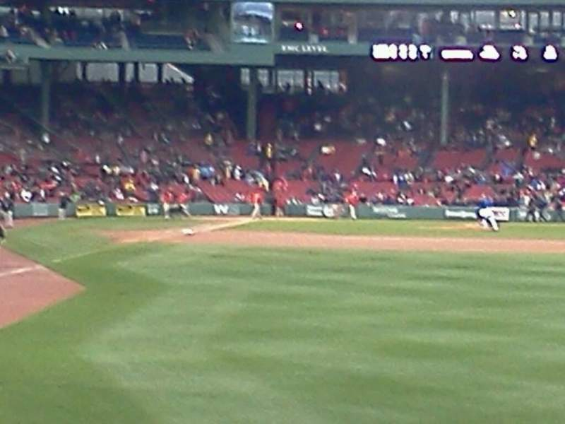 Seating view for Fenway Park Section Right Field Box 88 Row jj Seat 2