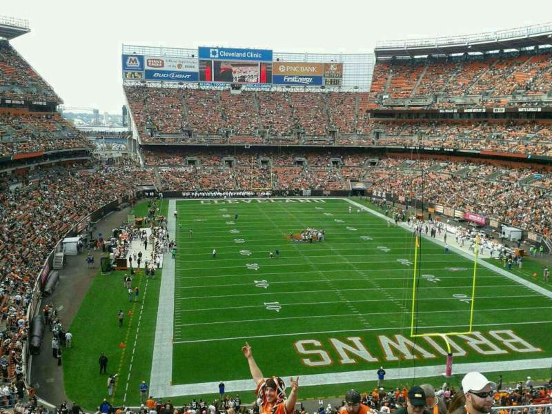 Seating view for FirstEnergy Stadium Section 318