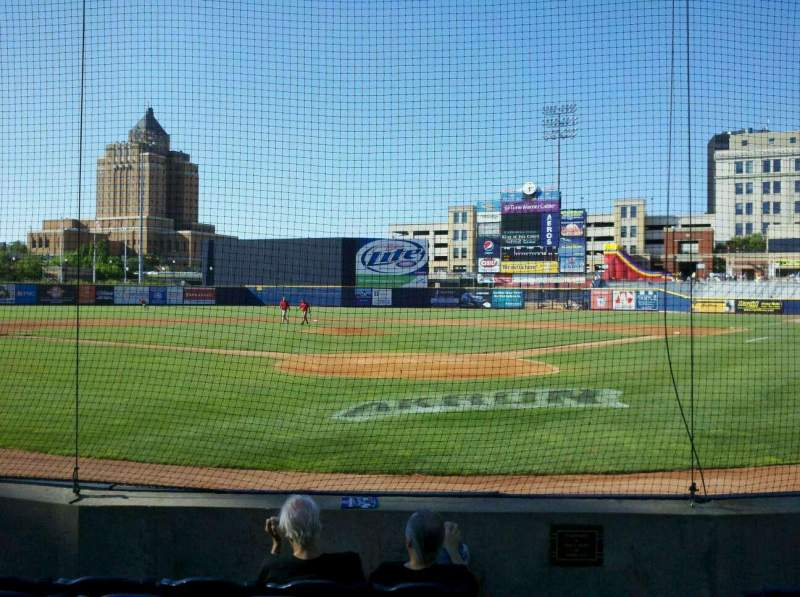 Seating view for Canal Park Section 102