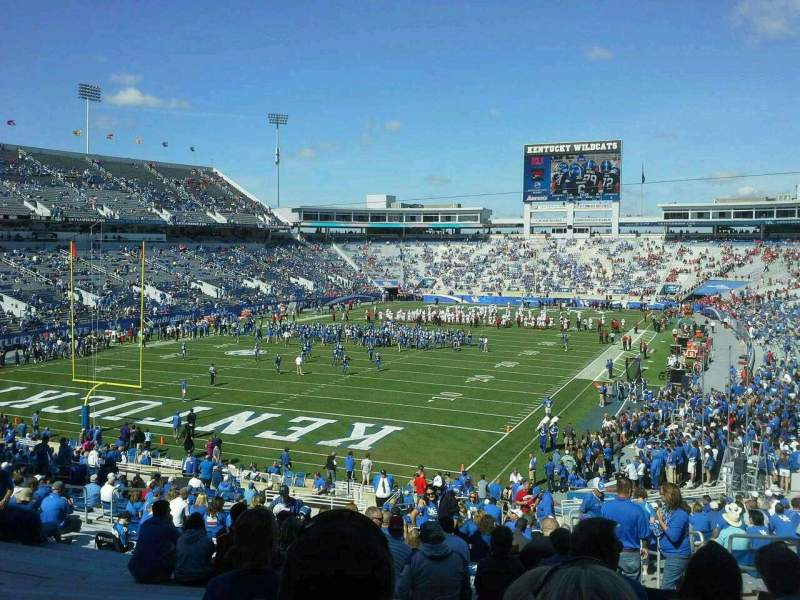 Seating view for Commonwealth Stadium Section 141 Row 38 Seat 12