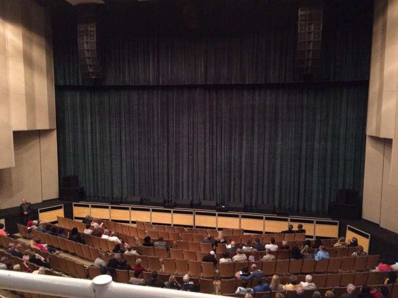 Seating view for Maxwell C. King Center Section Grand Tier Row AA Seat 21