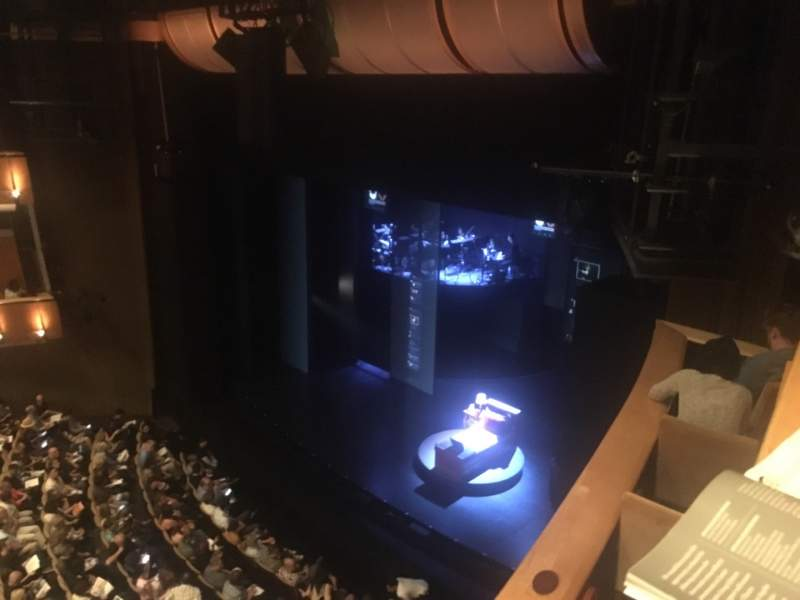 Seating view for Ahmanson Theatre Section Balcony Row Box Seat B