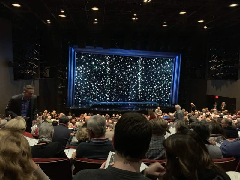 Seating view for La Jolla Playhouse Section Orch Row P Seat 24