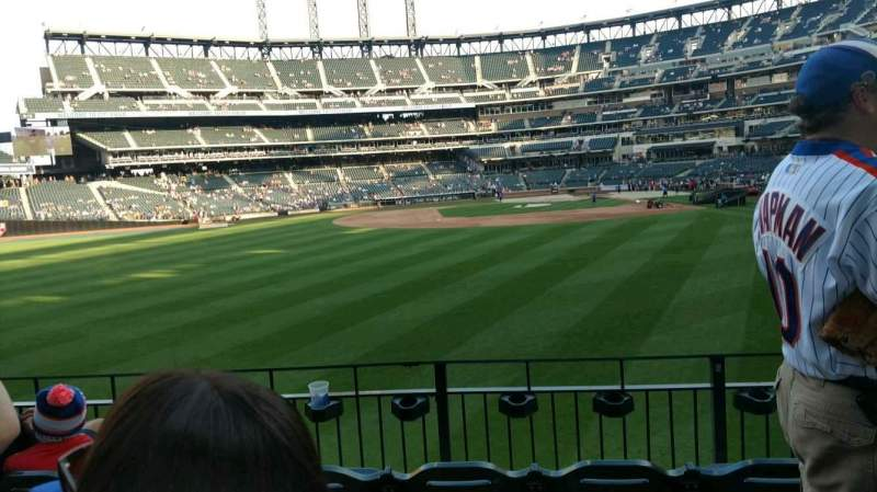 Seating view for Citi Field Section 135 Row 4 Seat 12