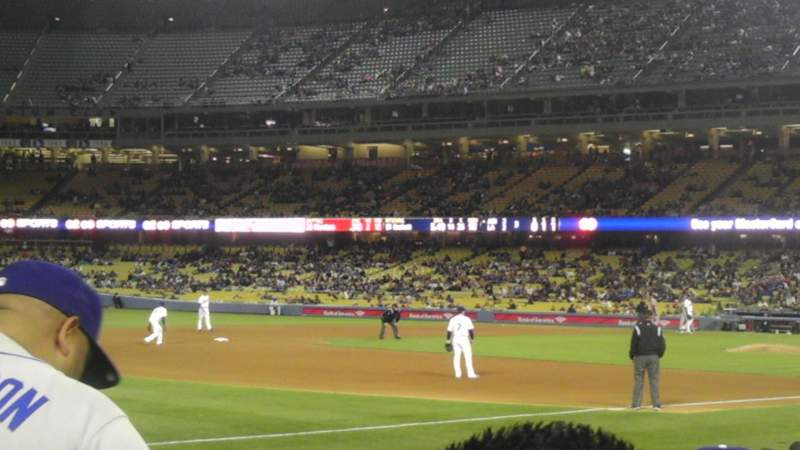 Seating view for Dodger Stadium Section 37FD Row F  Seat 2
