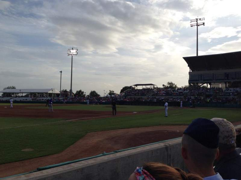 Seating view for Nelson W. Wolff Municipal Stadium Section 115 Row C Seat 26