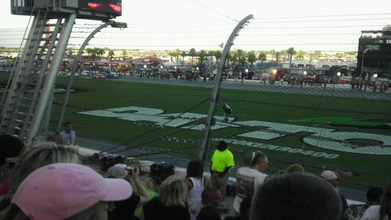 Seating view for Daytona International Speedway Section Campbell e Row 7 Seat 49