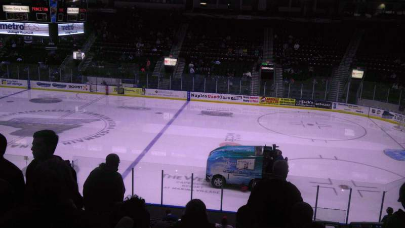 Germain Arena, section: 120, row: 18, seat: 4