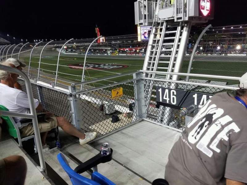Seating view for Daytona International Speedway Section 147 Row 3 Seat 22