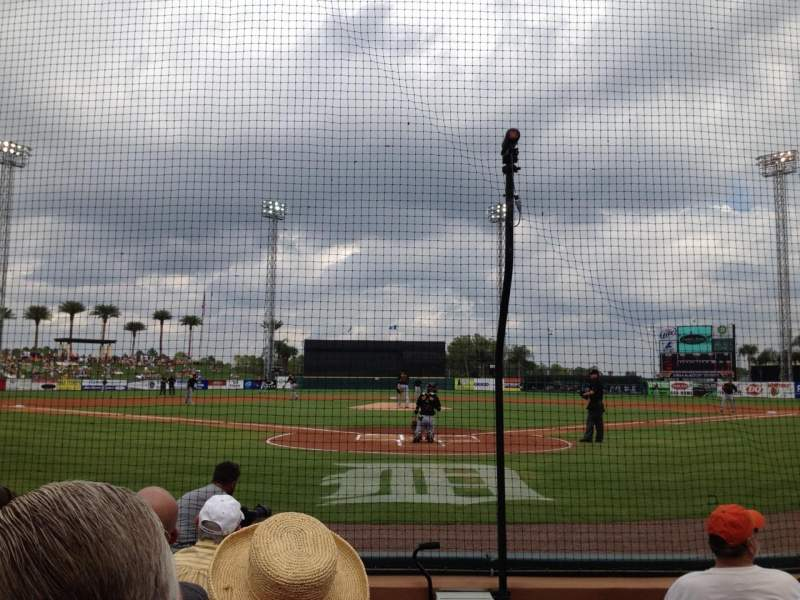 Seating view for Joker Marchant Stadium Section 107 Row EE Seat 1