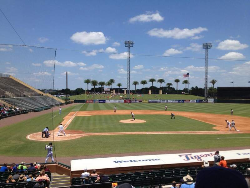 Seating view for Joker Marchant Stadium Section 204 Row L Seat 6