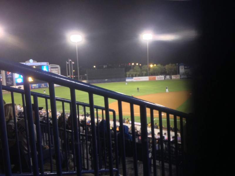 Seating view for George M. Steinbrenner Field Section 215 Row C Seat 18