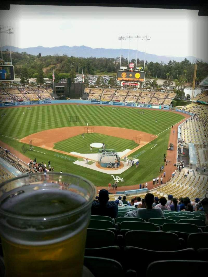 Seating view for Dodger Stadium Section 3rs Row V Seat 21