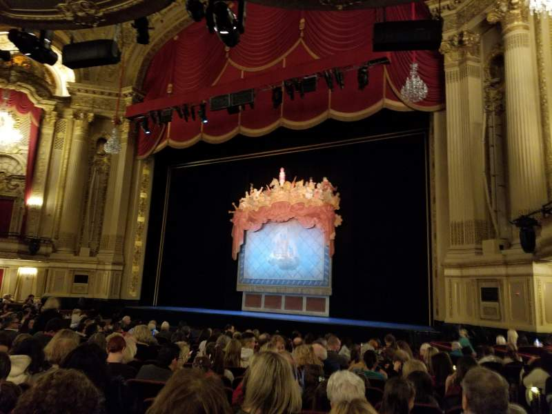 Seating view for Citizens Bank Opera House Section Orchestra Right Row N Seat 28