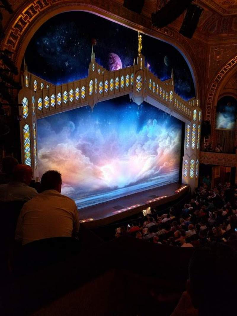Seating view for Eugene O'Neill Theatre Section Mezzanine L Row B Seat 27