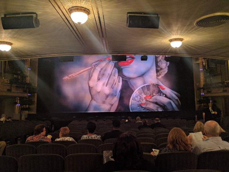 Seating view for Nederlander Theatre Section Orchestra Row Q Seat 112