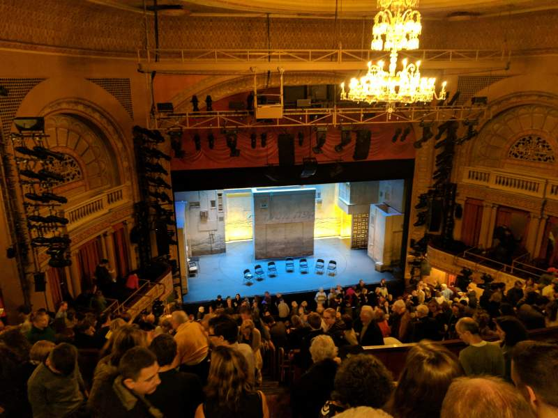 Seating view for Ethel Barrymore Theatre Section Rear Mezzanine L Row F Seat 7