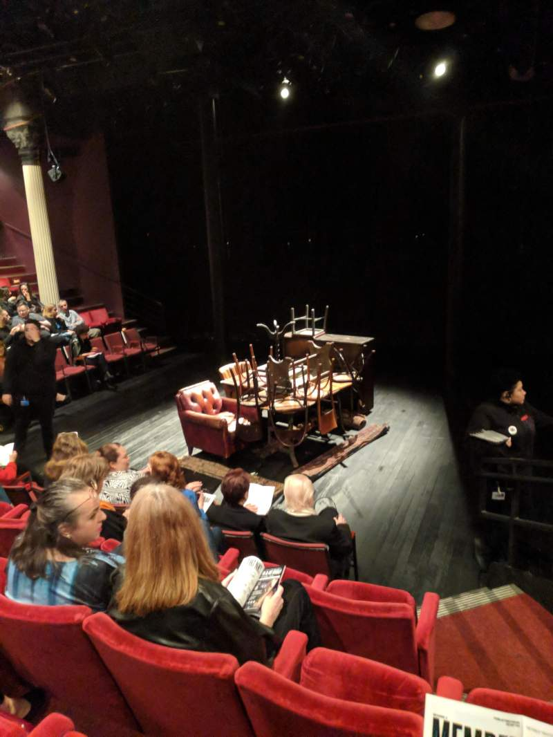 The Anspacher Theater at the Public Theater, section: Center Section, row: E, seat: 104