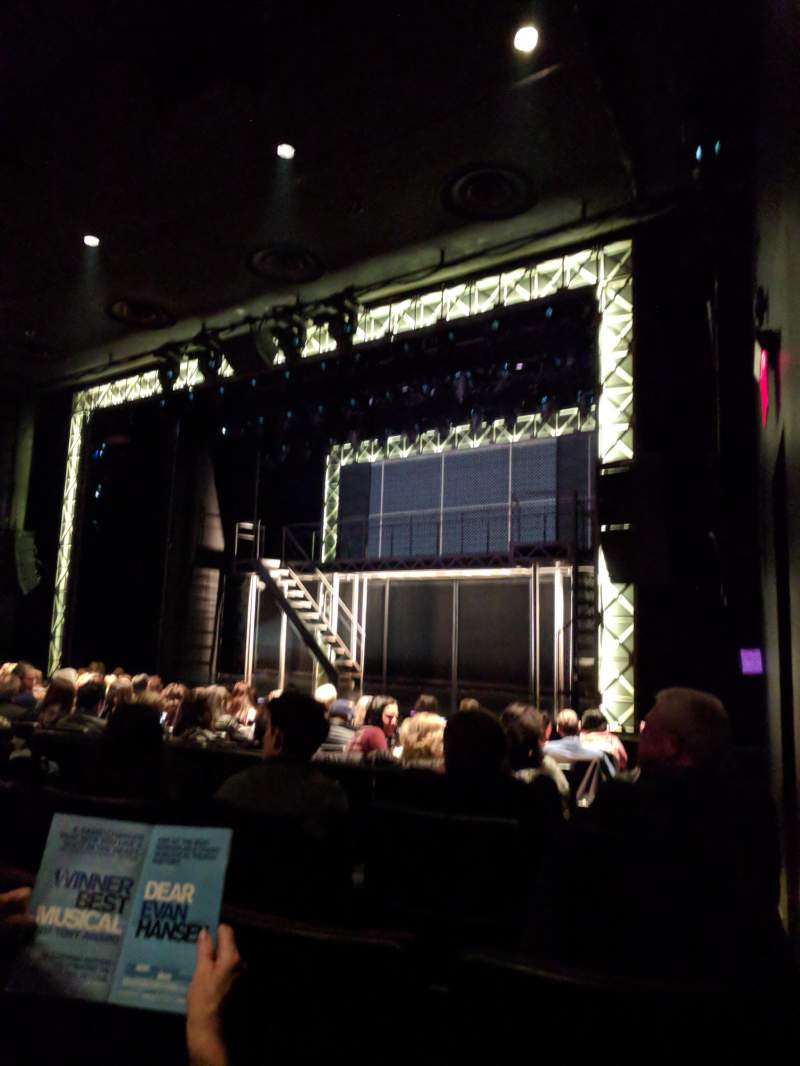 Seating view for New World Stages - Stage 1 Section ORCHR Row K Seat 16