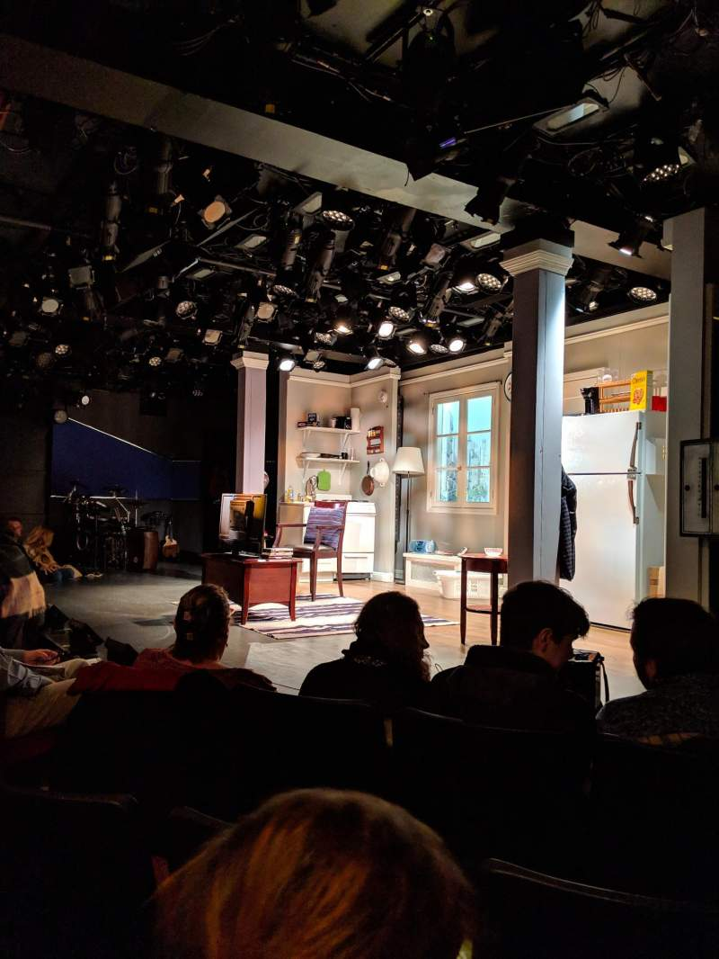 Seating view for Westside Theatre Section ORCH Row C Seat 14
