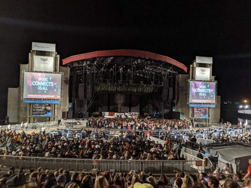 Seating view for Jones Beach Theater Section 9R Row N Seat 9
