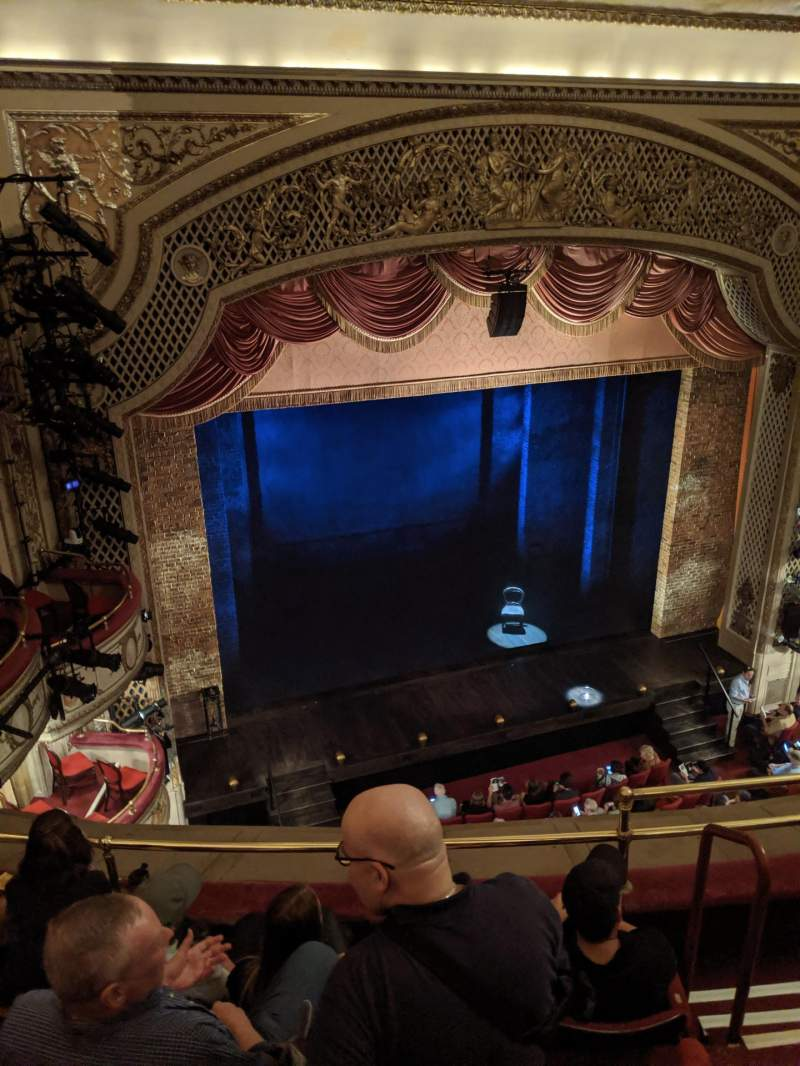 Seating view for Cort Theatre Section Balcony L Row D Seat 7