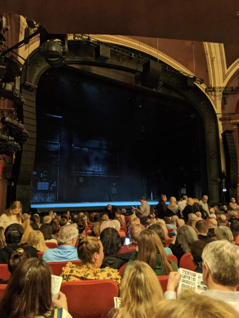 Seating view for Broadway Theatre - 53rd Street Section Orchestra L Row P Seat 24