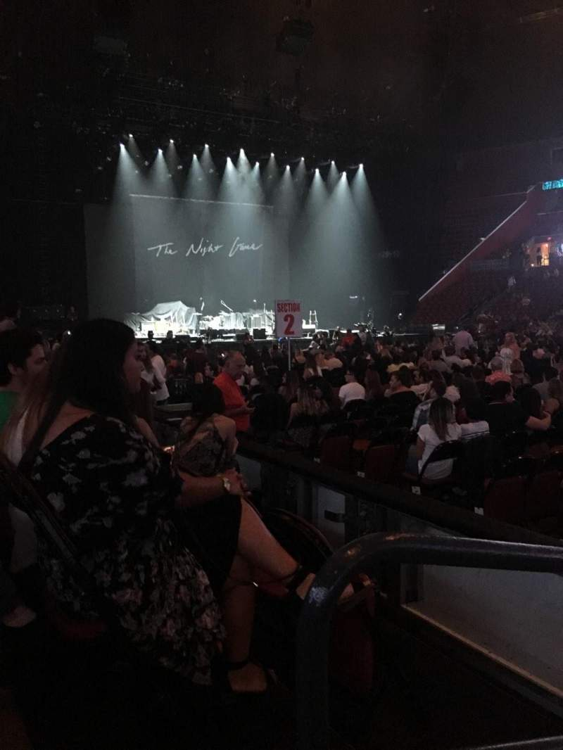 Seating view for BB&T Center Section 117 Row 3 Seat 14